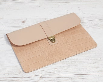 Handmade leather case for MacBook 12 or Air 11.