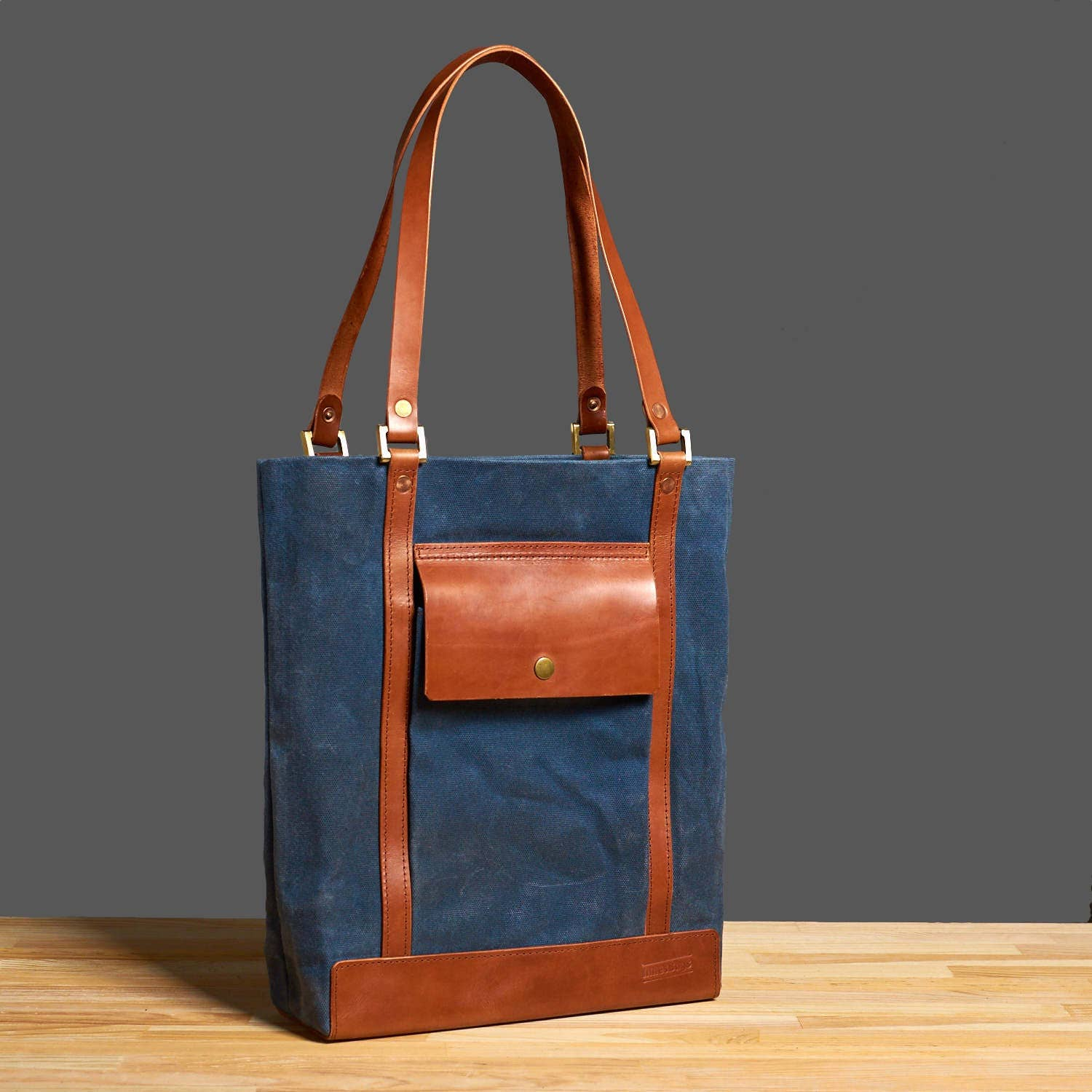 65404dcdaa1 Waxed canvas tote. Womens canvas bag. Canvas leather tote. Waxed ...