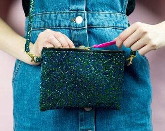 Mermaid Glitter Party Handbag.