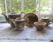 Japanese Earthenware Tea Service