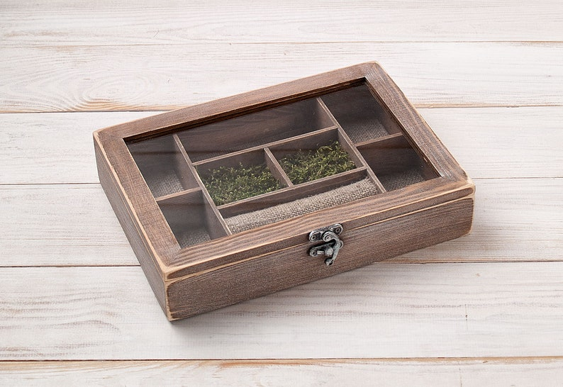 Rustic Jewelry Box for Women Jewelry Organizer Collection ...