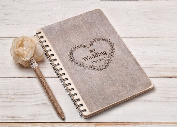 Gifts For Wedding Planning: Wedding Planner Book Bride Notebook Wedding Planner