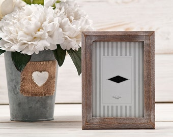 Rustic Shabby Chic Wedding Picture Frame Rustic Wedding Table Numbers Wedding Frame Photo Frame Wood Frame Wedding Signs Candy Bar Signs