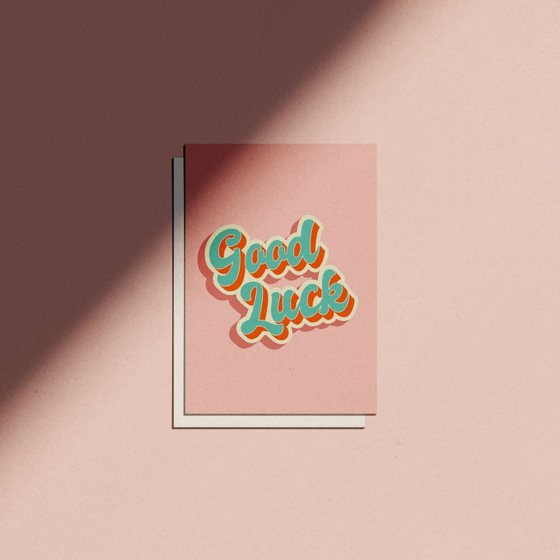 Good Luck Card image 0