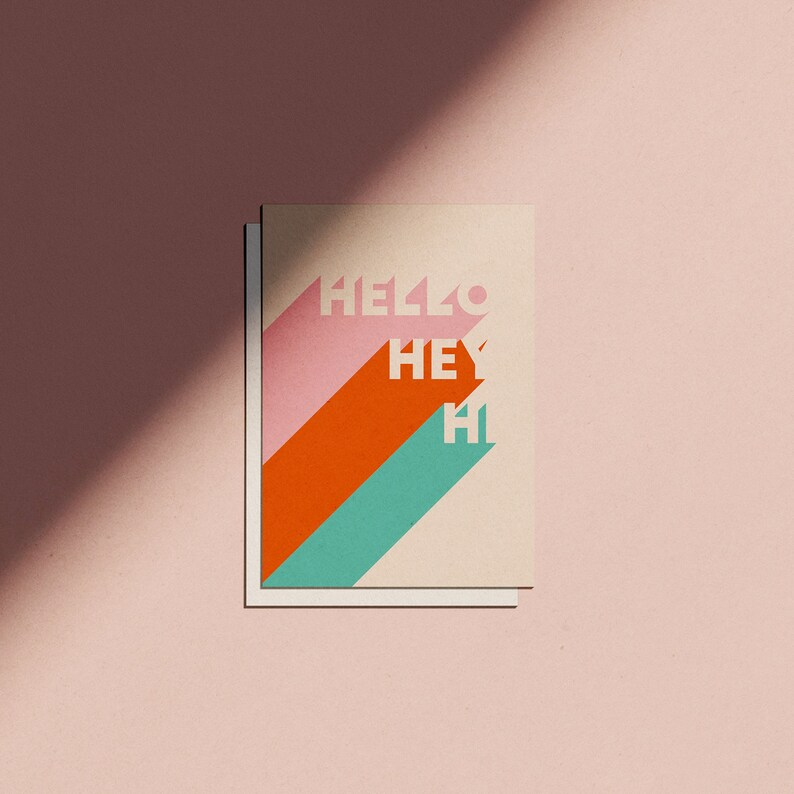Hi Hey Hello Card image 0