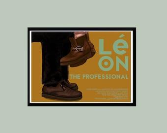 Leon the Professional Alternative Movie Poster