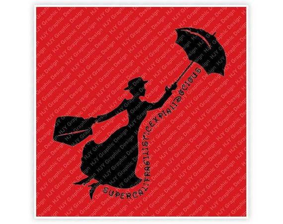 Mary Disney Poppins Etsy Mary Disney Supercalifragilisticexpialidocious 8PqxFOf