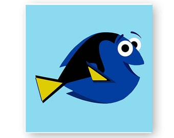Disney, Finding Dory, Finding Nemo, Fish, Digital, Download, TShirt, Cut File, SVG, Iron on, Transfer