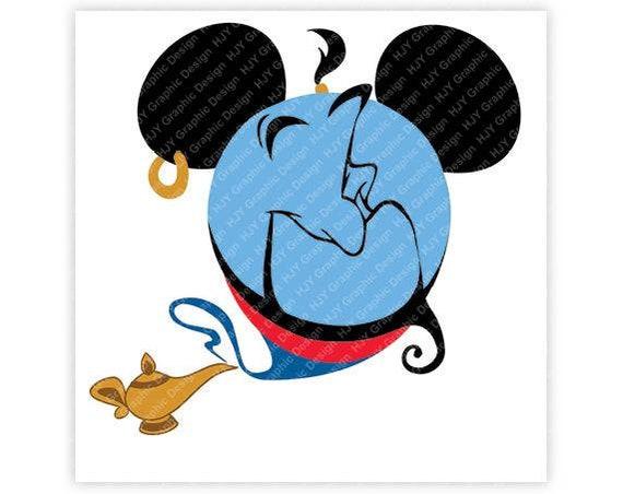 Disney Aladdin Genie Lampe Mickey Minnie Maus Ohren | Etsy