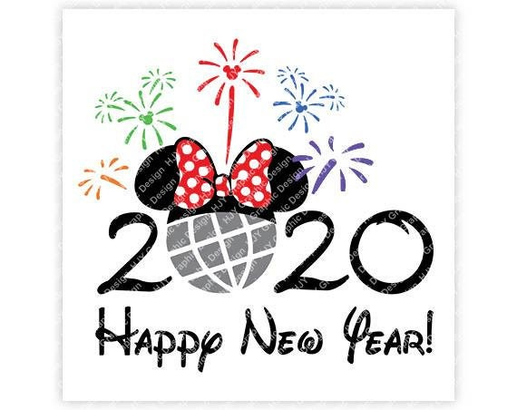 Happy New Year Clipart 2020 48