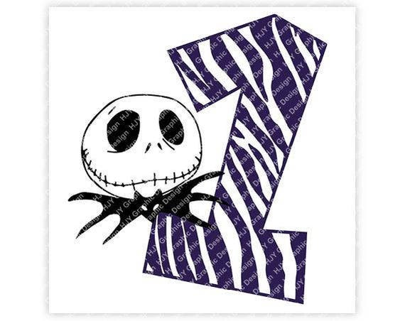 Disney Nightmare Before Christmas Jack Skellington One 1 Etsy