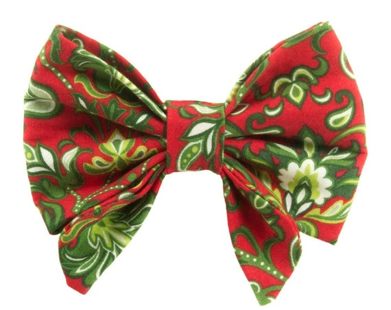 Christmas Fancy Dog Bow Tie