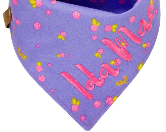 Spring Summer Personalized Puppy Scarf