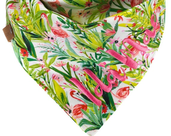 Custom Tropical Dog Bandana
