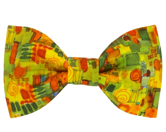 Spring Summer Day Dog Bowtie