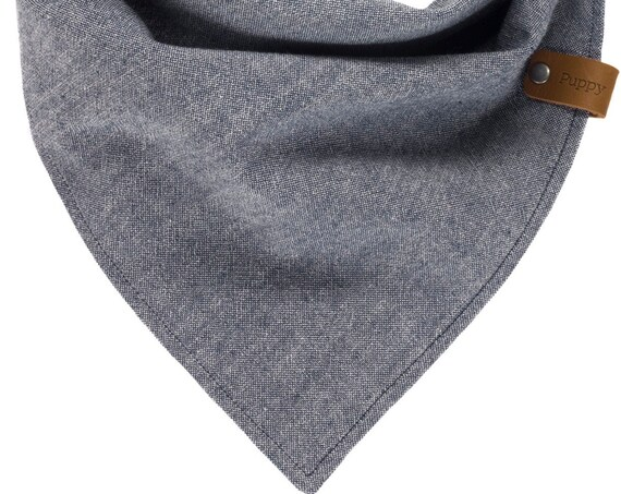 Denim Chambray Puppy Scarf
