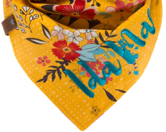 Summer Autumn Floral Dog Bandana