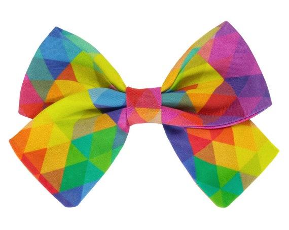 Rainbow Sailor Bowtie Dogs