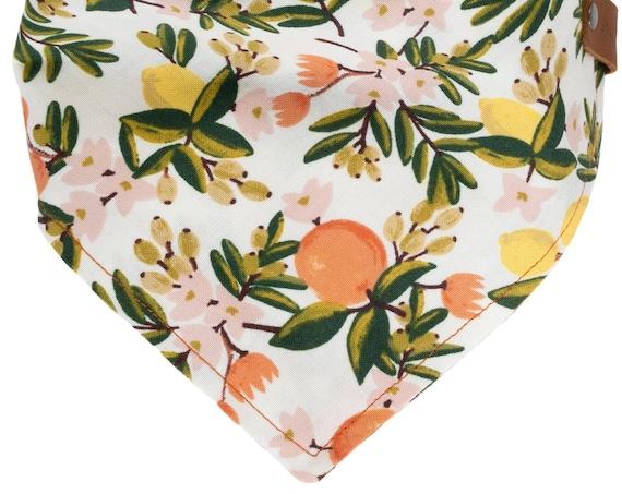Personalized Floral Bandana