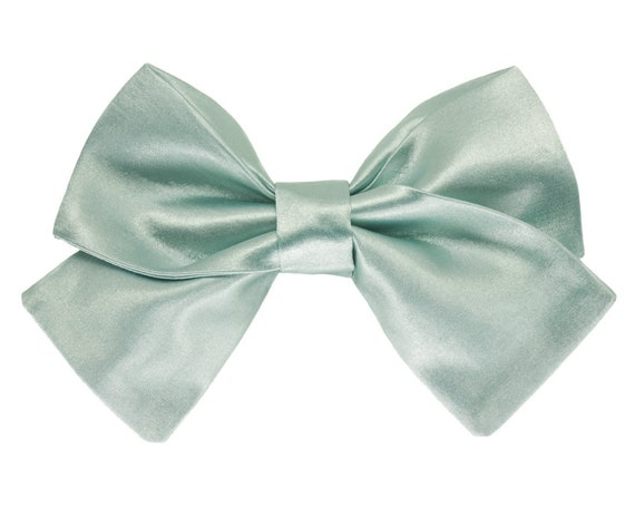 Wedding Dog Satin Bowtie