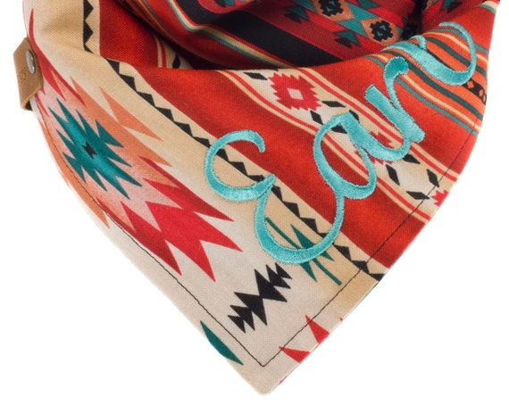 Personalized Aztec Dog Bandana