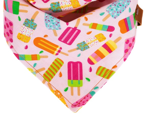 Summer Popsicle Girly Dog Bandana