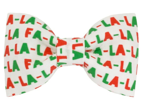 Christmas Dog Bow Tie