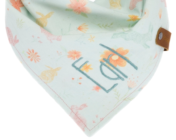 Customized Easter Bunny Dog Bandana