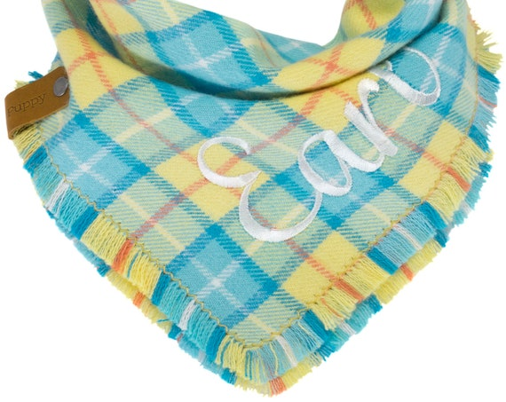 Easter Flannel Dog Scarf