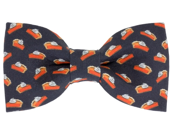 Pumpkin Pie Dog Bow Tie