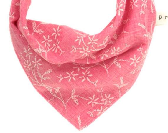Pink Summer Dog Scarf