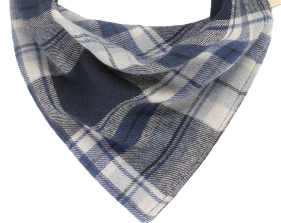 Blue Flannel Puppy Scarf