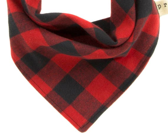 Buffalo Plaid Pet Scarf