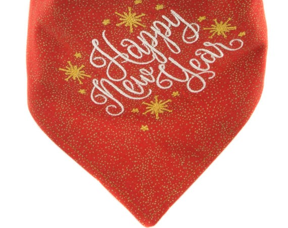 New Year's Eve Pet Bandana
