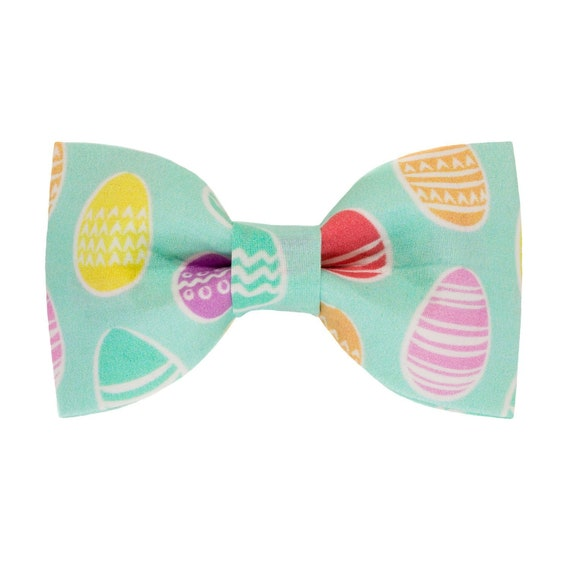 Dog Accessory Easter Dog Bow Tie Easter Egg Bow Tie Dog Bow Tie