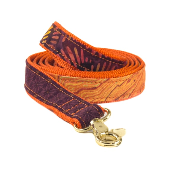 Batik Dog Leash