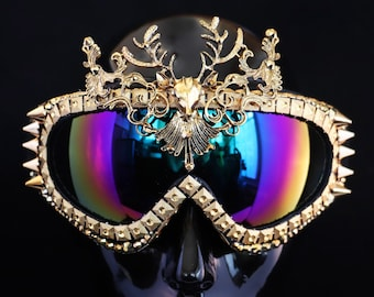 Playa Goggles- Golden Stag