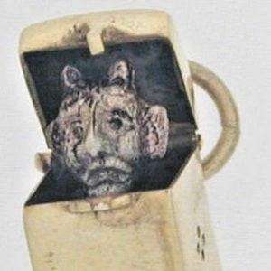 Antique William IV silver kings pattern starter fork 62.8 g 1835 Dublin Irish