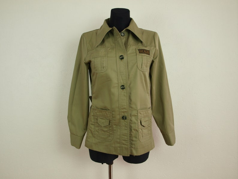 Military clothes Sargent Major rank Women/'s blouse Women/'s top Womens army shirt Size S Us 10 Eur 40 German army shirt