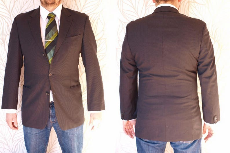87994070 Vintage Hugo Boss sport coat Hugo Boss Made in USA Size US | Etsy