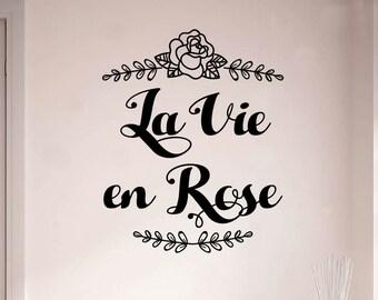 Vie en rose | Etsy