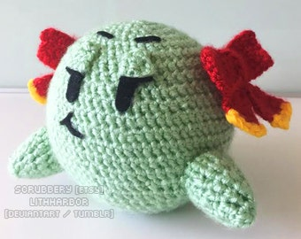 Paper Mario - Lady Bow Inspired Amigurumi