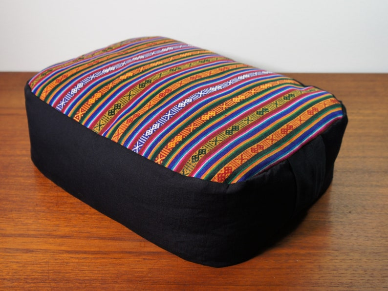 Bhutanese-like Tibetan fabric handmade in Nepal features image 0