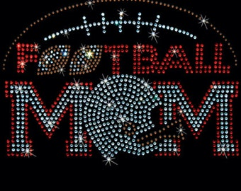 Football Mom Rhinestone T-Shirt