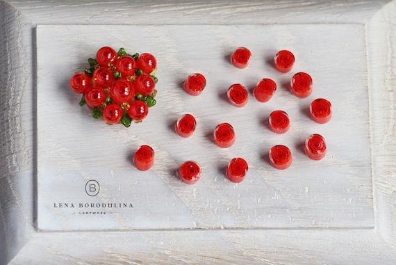 Red-white rose murrini COE104