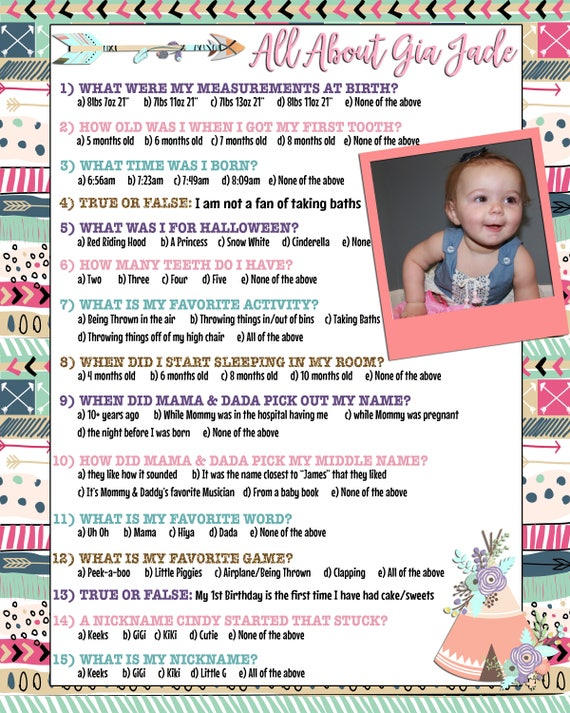 1st Birthday Games First Party Game Ideas