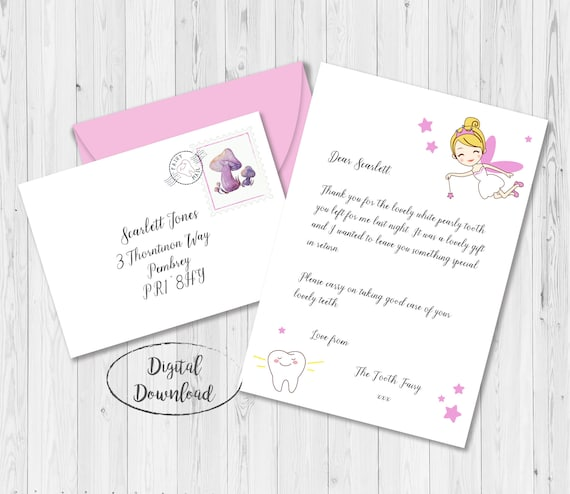 picture about Tooth Fairy Printable Letter known as Miniature Teeth Fairy Letter and Envelope, Small Enamel Fairy Letter, Teeth Fairy Certification, Enamel Fairy Printable, Enamel Fairy