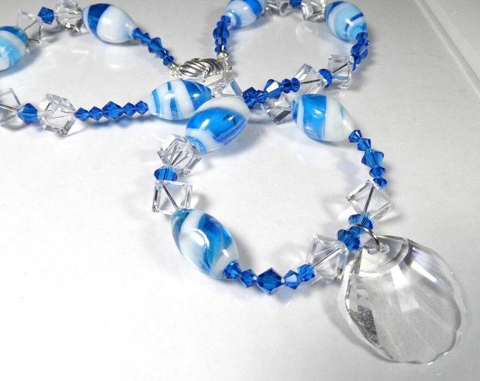 Caribbean Vacation Swarovski Crystal Necklace
