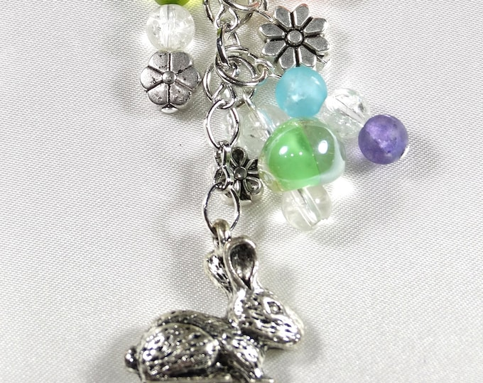 Bunny in the Spring Charm Chain