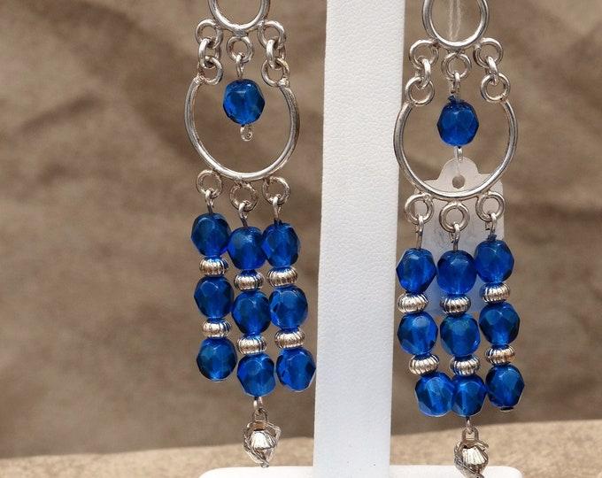 Sapphire Dangles Earrings